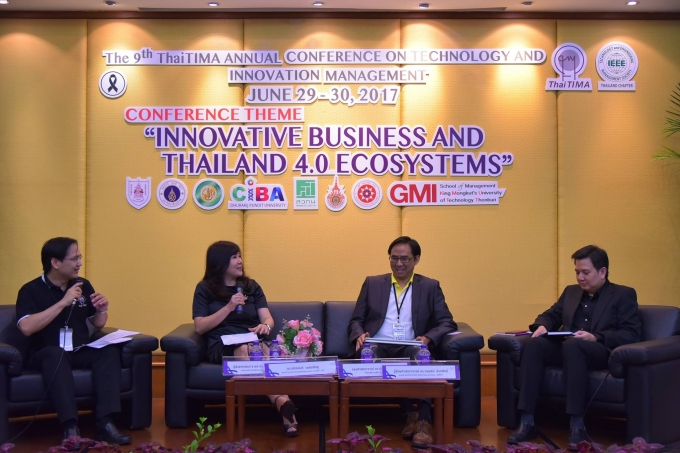 Innovative Business and Thailand 4.0 ecosystems